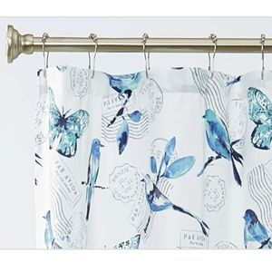 🆕️Blue spring shower curtain
